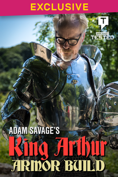 Adam Savage's King Arthur Armor Build