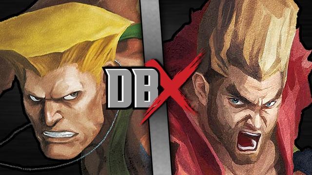 Guile VS Paul Phoenix (Street Fighter VS Tekken)