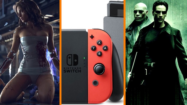 Cyberpunk 2077 WHEN? + More Classic Games for Switch + New Matrix NOT a Reboot