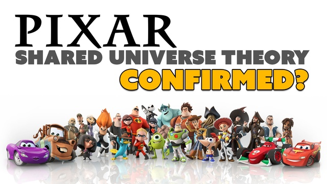 Pixar Shared Universe Theory CONFIRMED?
