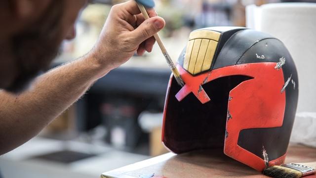 Dredd Helmet