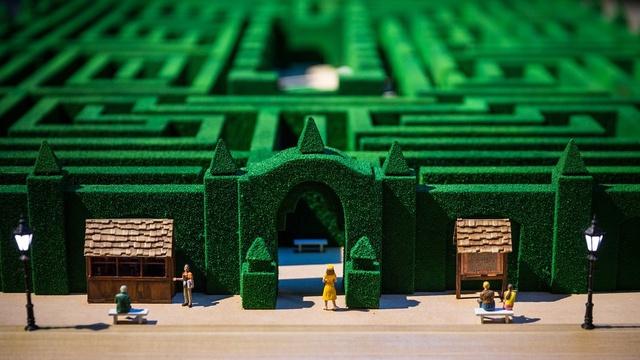 Overlook Hotel Maze Model