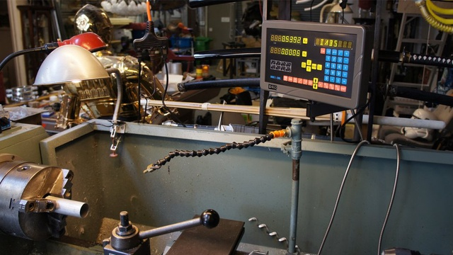 Metal Lathe with Digital Readout