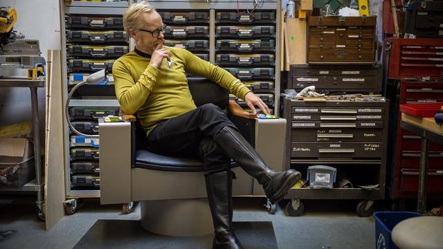 Adam Savage's Star Trek Captain's Chair